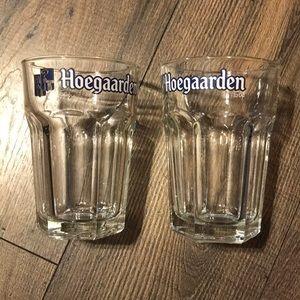Set of 2 Hoegarden beer 🍻 glasses